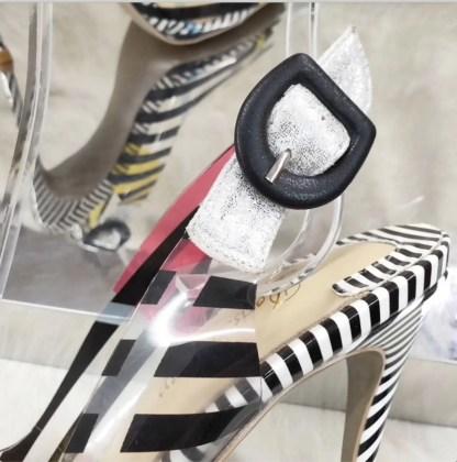 The Ferago Multicolor PVC Heels 2