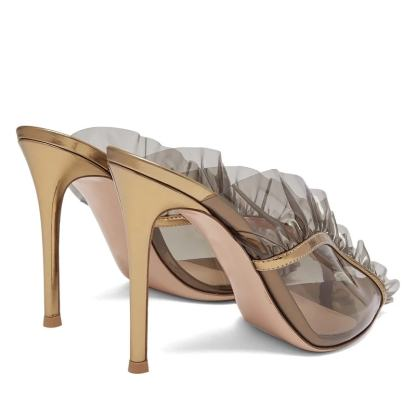 The Ferago Ruffle Sandals 2
