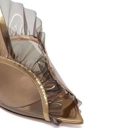 The Ferago Ruffle Sandals 4