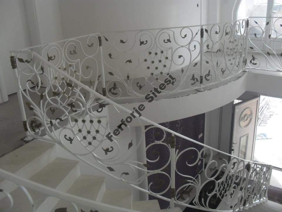 ferforje merdiven modeli