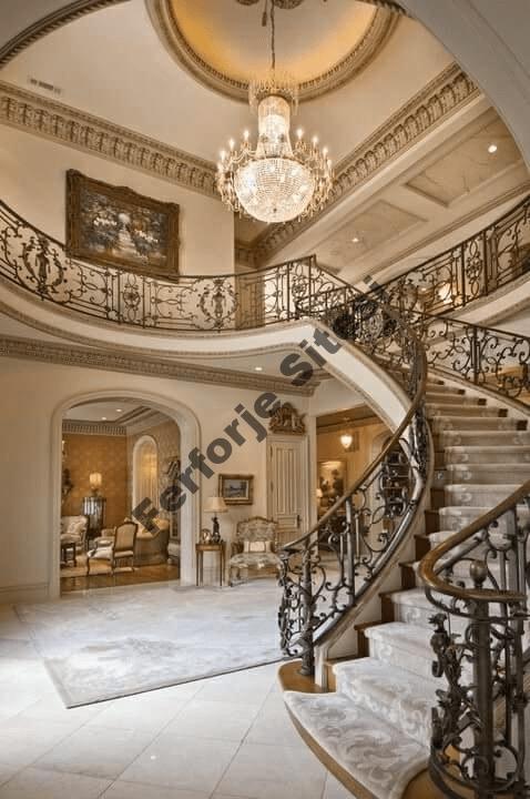 Ferforje merdiven korkulugu ceşitleri