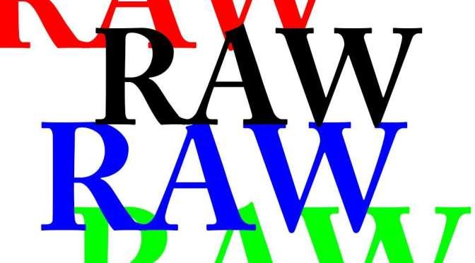 Cuatro motivos para trabajar con el formato RAW