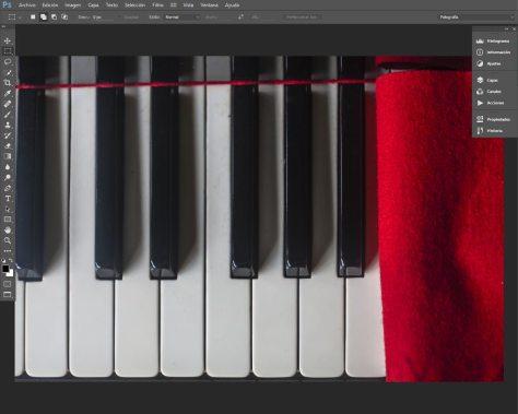 espacio de trabajo Photoshop CC2015