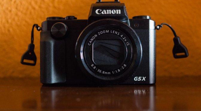 Análisis de la Canon PowerShot G5x