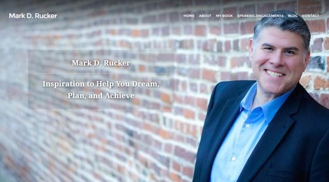 Mark D. Rucker website