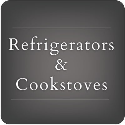 Refrigerators & Cookstoves