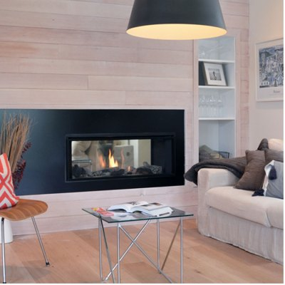 Valor L1 See-thru, Gas, Zero Clearance Fireplace