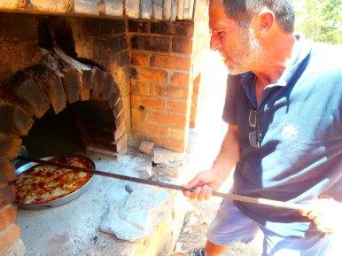 pizza backen auf kreta