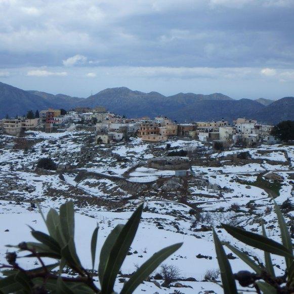 Schöne Autorouten Kreta