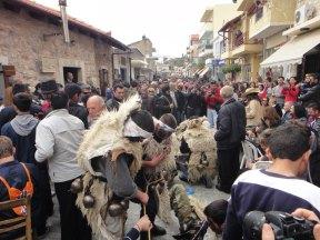 Traditioneller Karneval in Kreta