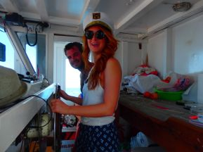 boot fahren in kreta