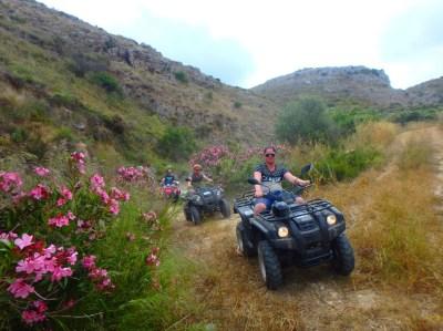 quad tour kreta
