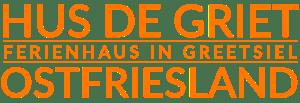 Logo Hus de Griet Ferienhaus in Ostfriesland