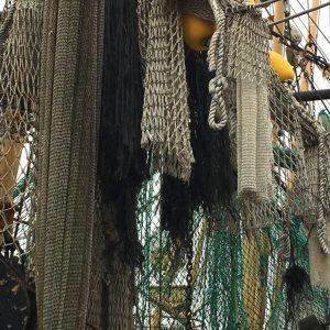 Netze im Hafen
