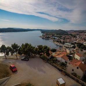Eindruck Panorama Sibenik 3