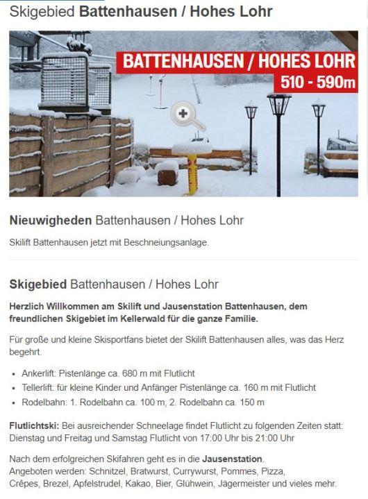skilift battenhausen
