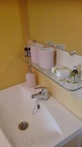 Häuschen am Rosenstrauch - Badezimmer