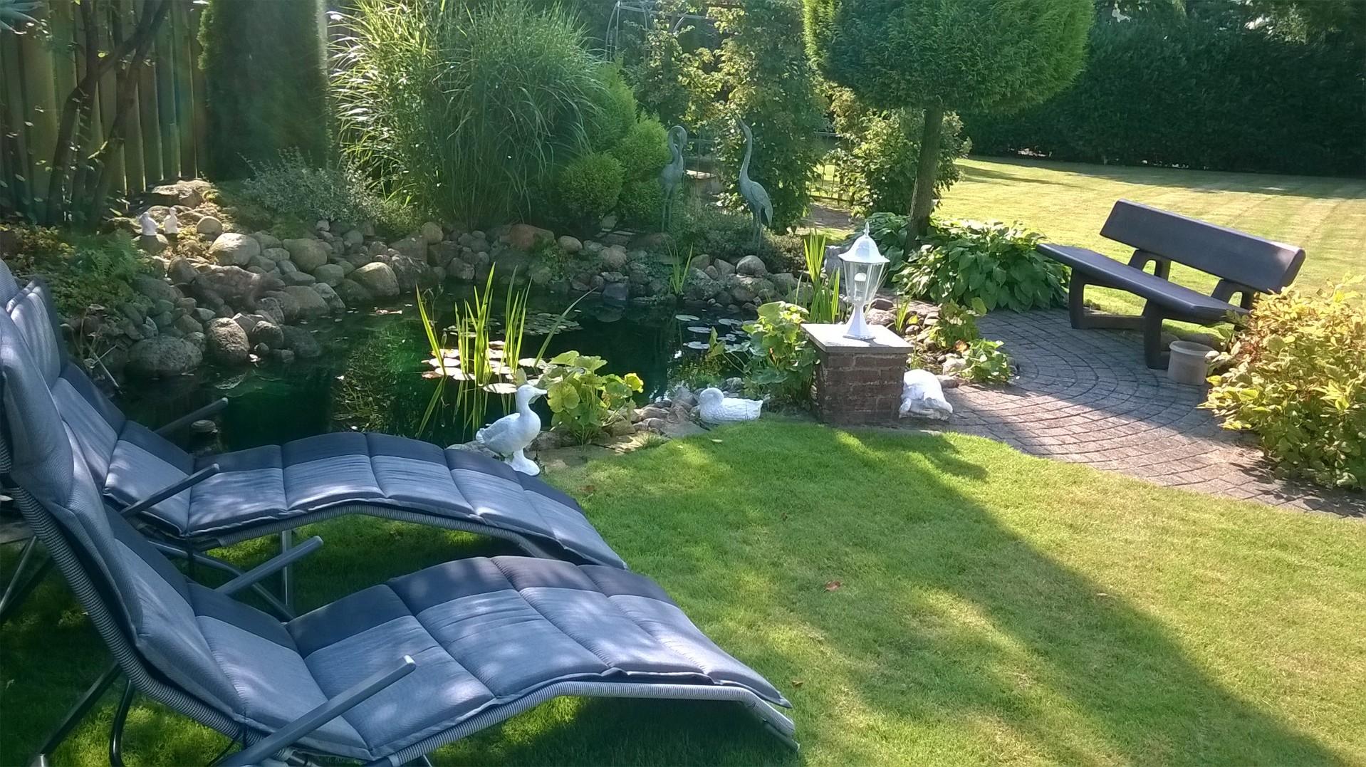 Sonnengenuss oder Schatten-Relaxen
