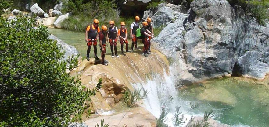 Canyoning Rio Verde