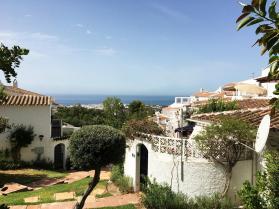 Der Eingang der Ferienwohnung Villa Limón