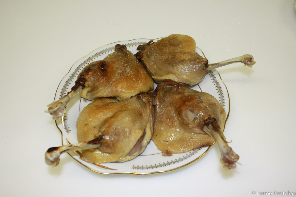 Cuisse de Canard en confit, 4 cuisses
