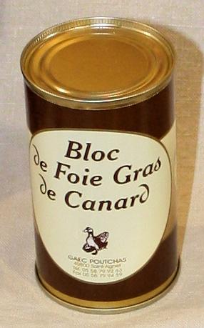 Ferme Poutchas - bloc de Foie de canard 190g