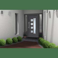 portes d entree pvc alu pas cher sur mesure