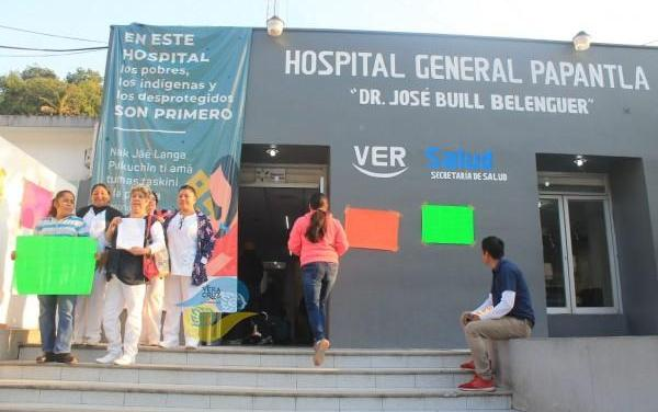 Denuncia: NEGLIGENCIA EN HOSPITAL GENERAL DE PAPANTLA