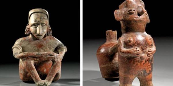 Denuncian a empresa alemana que subastará 74 piezas arqueológicas |  Fernanda Tapia