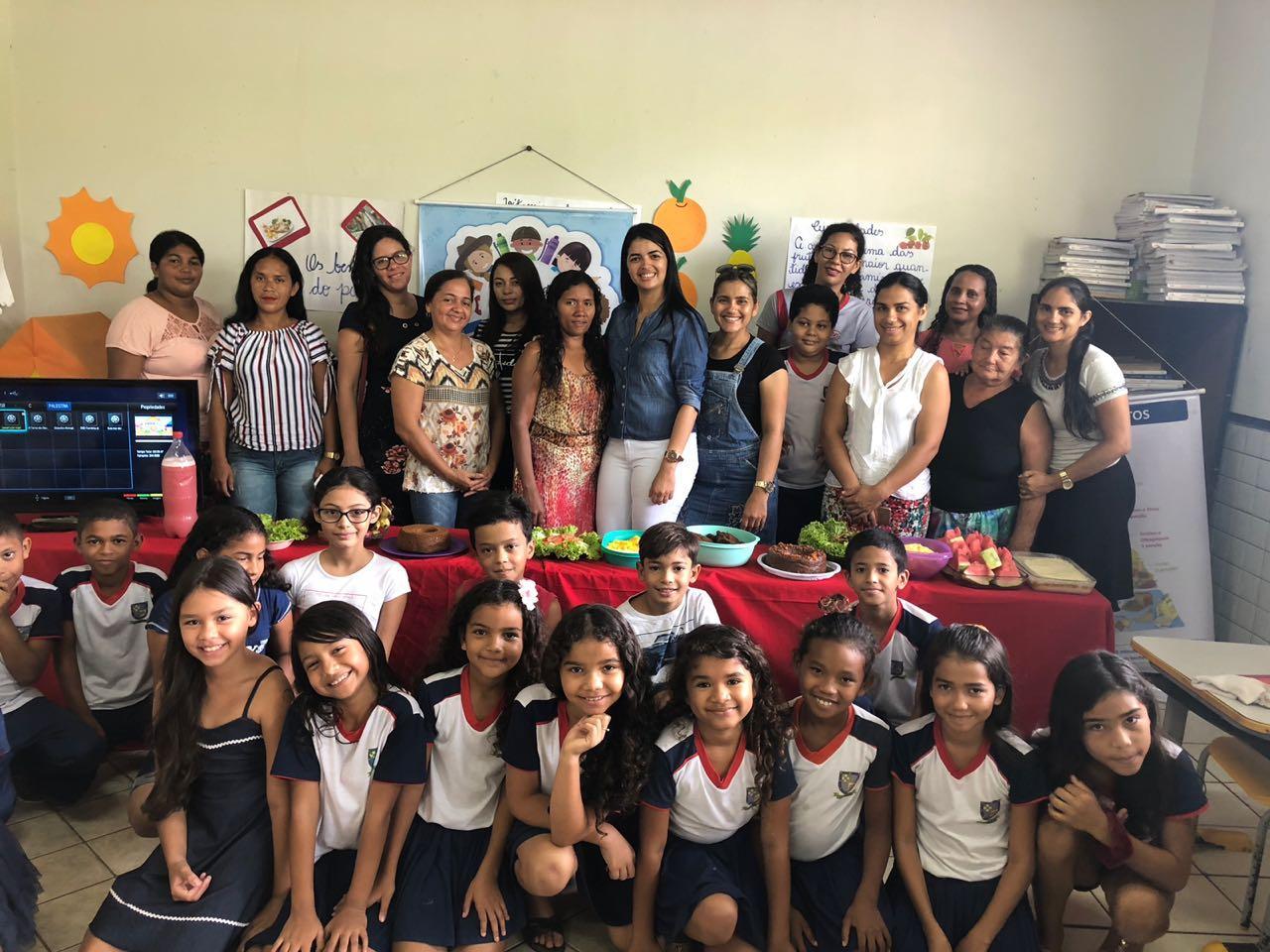 Governador Nunes Freire recebe o selo de participação da Jornada de Educação Alimentar e Nutricional