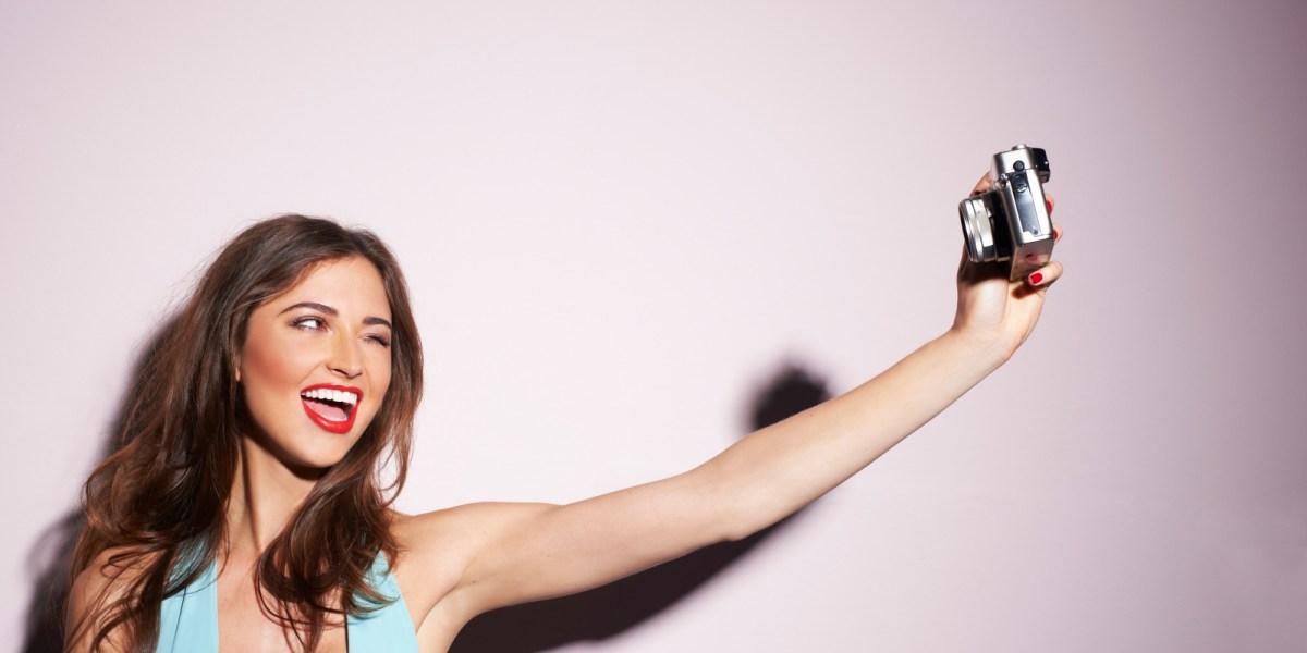 Hazte unas selfies en bañador