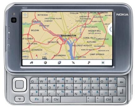 Nokia N810 com GPS integrado