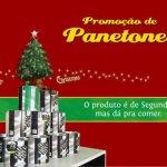 Promoção: Panetones de Natal