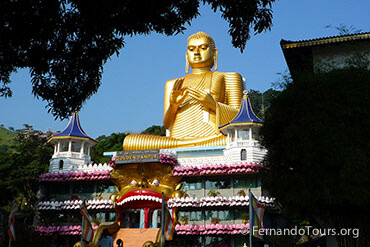 Places to see in Sri Lanka Dambulla Cave Temple - 8 Days / 7 Nights Package Tour Sri Lanka