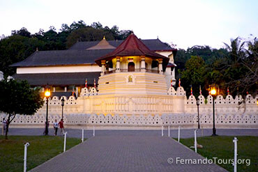 Places to see in Sri Lanka Kandy Temple of the Sacred tooth Relic - 6 Days / 5 Nights Package Tour Sri Lanka