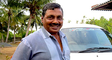 Lal Antony has been a tour guide for Fernando Tours since the beginning