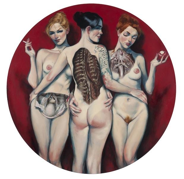 Three Graces Venus Fernando Vicente