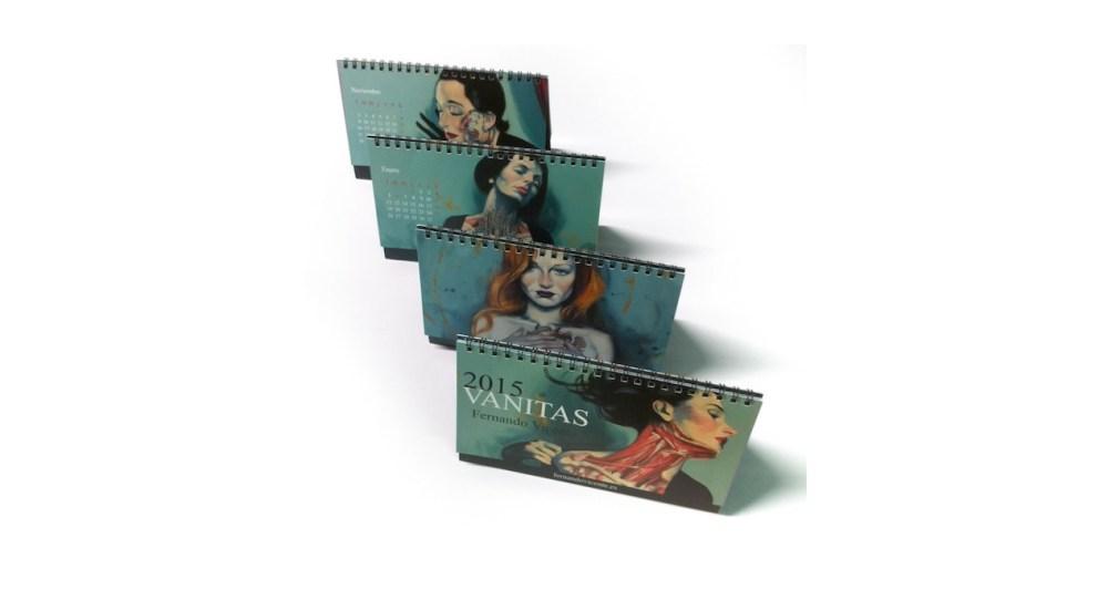 Calendario 2015 Vanitas de Fernando Vicente