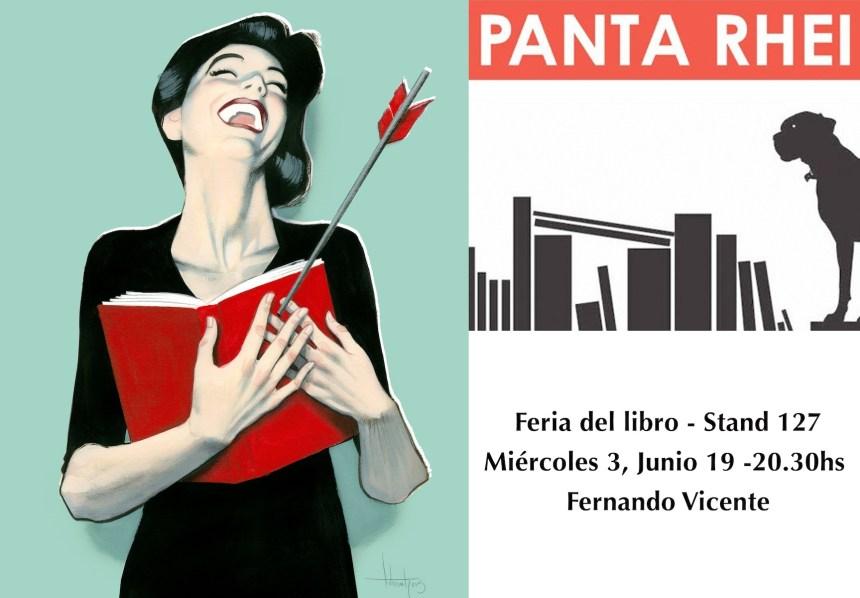 En la Feria del Libro de Madrid en PANTA RHEI