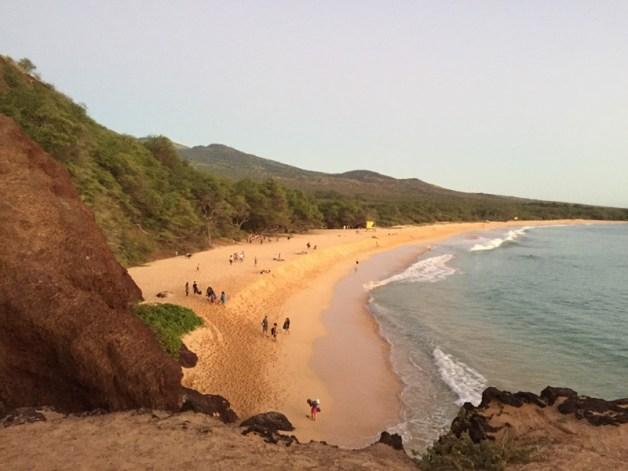 Maui Hawaii - Blick auf den Big Beach 2