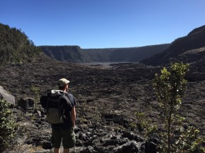 Big Island Hawaii - im Crater im National Park Volcano