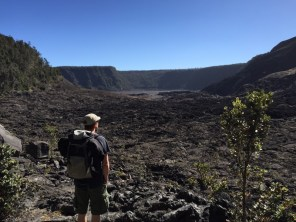 Big Island Hawaii - im Crater im National Park Volcano