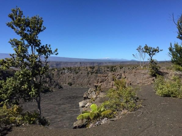 Big Island Hawaii - Keanakako Crater im National Park Volcano