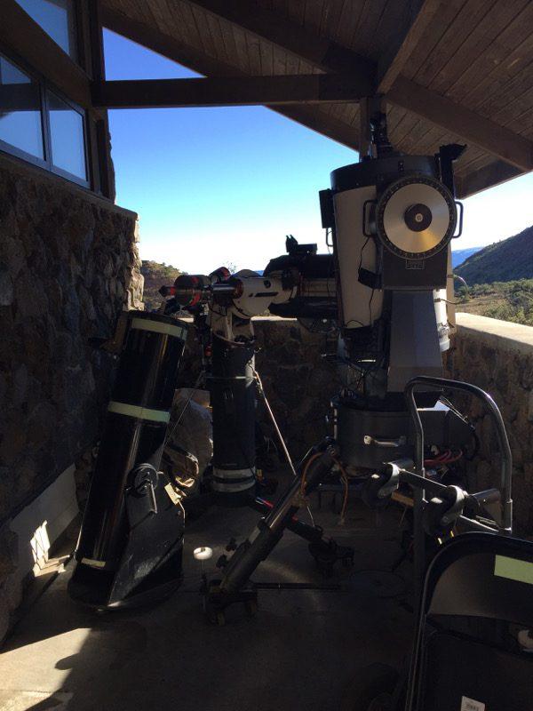 Big Island Hawaii - Visitor Center Mauna Kena - Teleskope