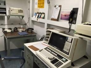 USS Missouri Pearl Harbor Hawaii - O´ahu - schickes Büro :-)