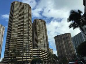 Honolulu Hawaii O´ahu - Häuserschluchten