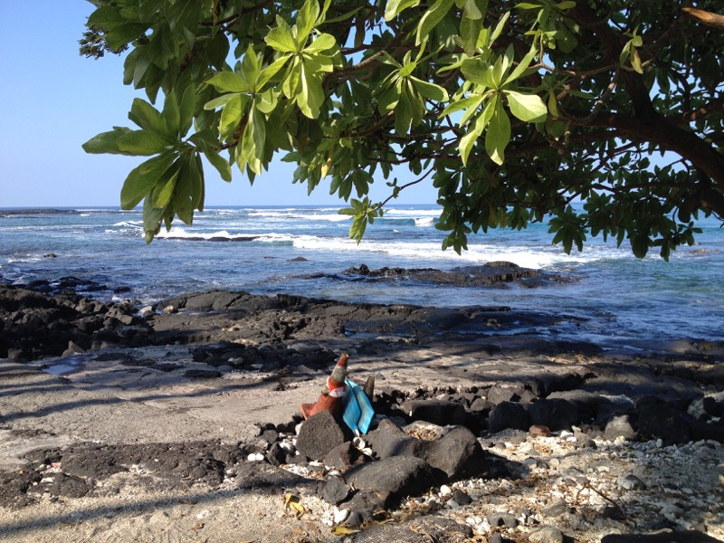 Big Island Hawaii - Captain Cook - Sandy Beach ? Wo?