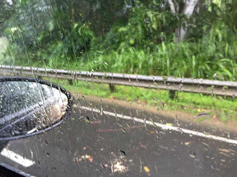Kailua Hawaii O´ahu - immer dieser Regen