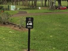 Kauai Hawaii - Golfplatz in der Nähe von Hanalai