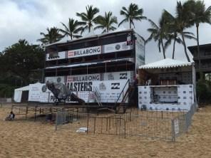 Billabong Pipemasters Hawaii Northshore 2014 - kein Take off, da schlechtes Wetter